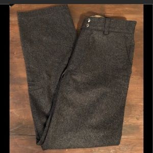 Grey wool dress pants (banana republic)